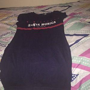 """Santa Monica"" H&M bodycon Dress"